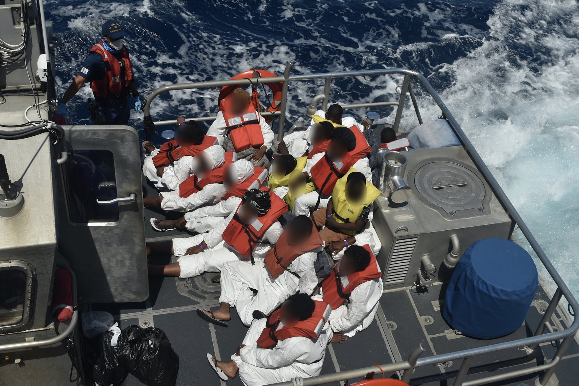 Coast Guard repatriates 74 migrants from 2 interdictions to Bahamas
