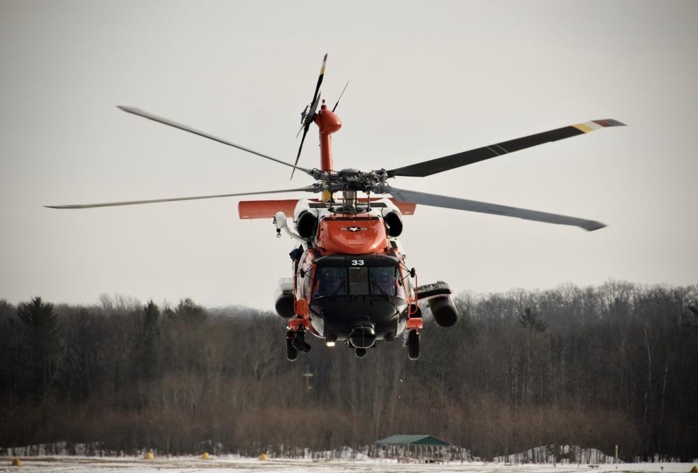 MH-60 Jayhawk Stock Photo