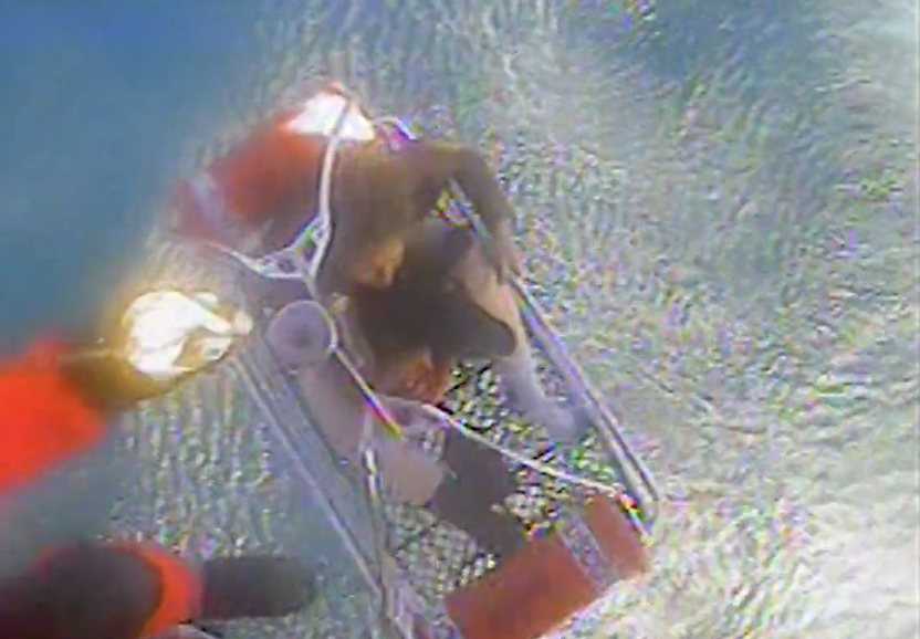 Coast Guard rescues crew of 3, dog after fishing vessel sinks off Lincoln City, OR