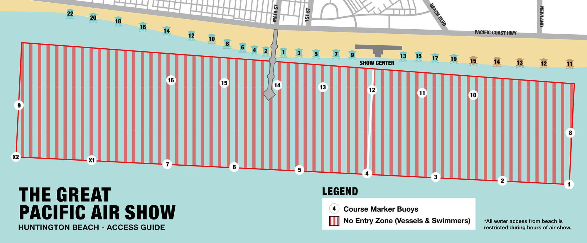 Huntington Beach Safety Zone