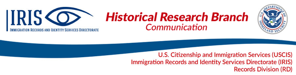 historical research branch communication