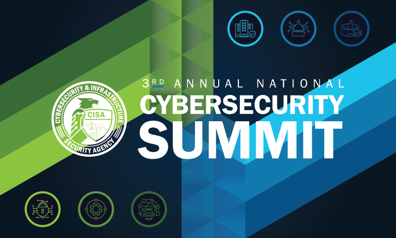 CISA Cybersecurity Summit Graphic