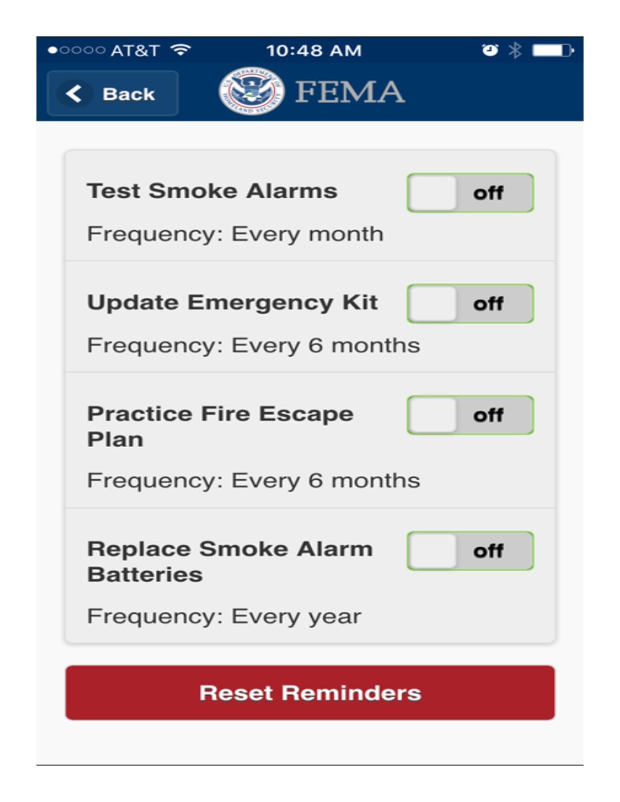 2016 FEMA App