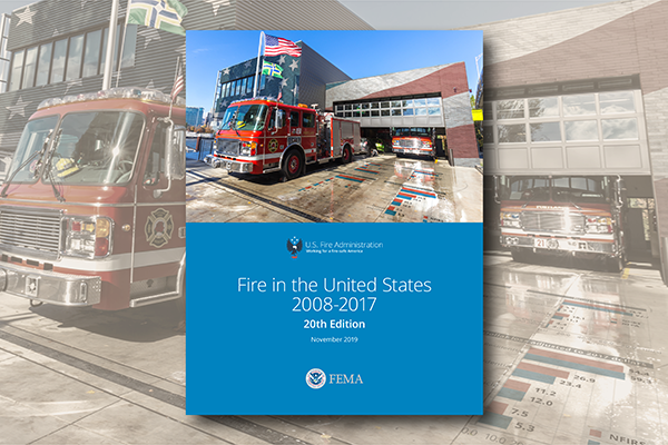 Fire in the United States report cover