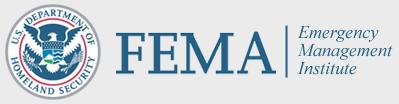 FEMA EMI Logo - U.S. Department of Homeland Security FEMA Emergencency Management Institute