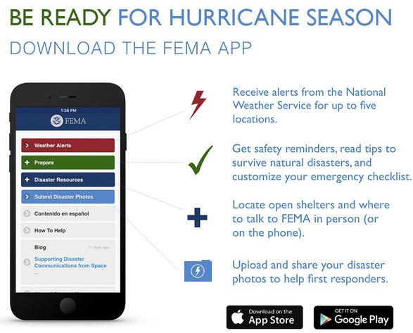 Download the FEMA App