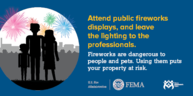 fireworks safety message