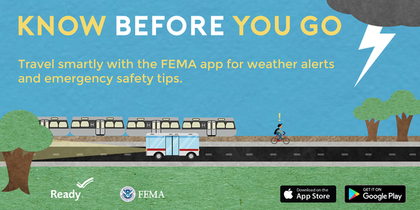 FEMA app travel