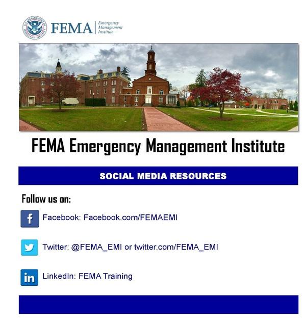FEMA Weekly: Nov  10, 2016