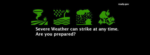 Spring weather can strike at anytime. Are you prepared?