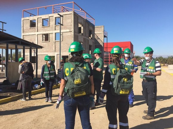 CERT Light Search and Rescue Training in Chile
