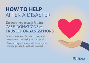 How to Help After a Disaster