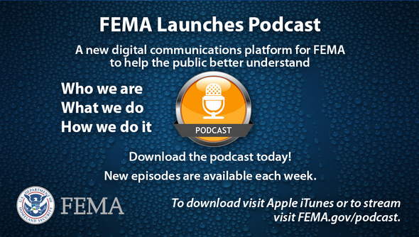 FEMA launches podcast