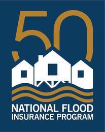 National Flood Insurance Program 50th anniversary logo