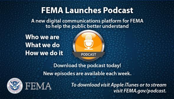 FEMA Podcast graphic