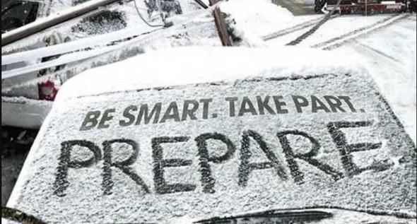 Be smart, prepare
