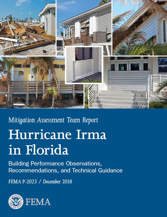 Hurricane Irma in Florida MAT Cover Image
