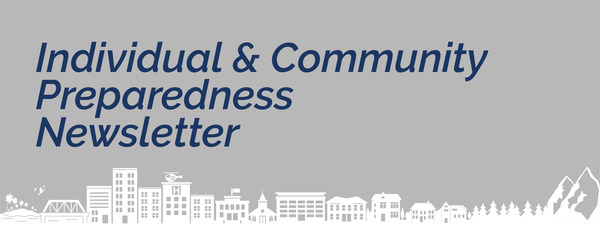 Individual and community preparedness newsletter, skyline