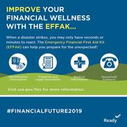Improve your financial wellness with the EFFAK: ID info, documents, medical info, household contacts.