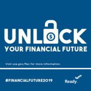 Unlock Your Financial Future--unlocked lock
