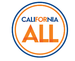 California for All logo (words in a circle)