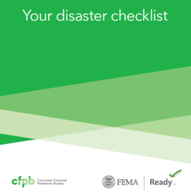 Your Disaster Checklist cover
