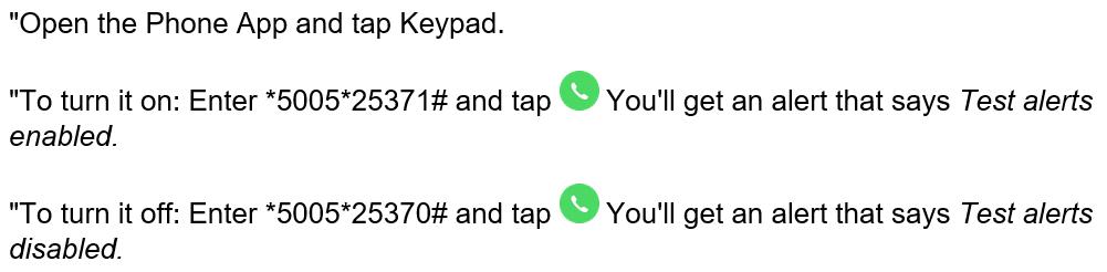 iOS tap procedure
