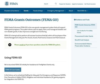 8.4.20 Ebrief - New grants management system