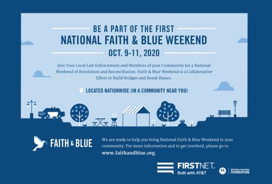 Faith and Blue Weekend
