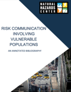 Risk Communication Involving Vulnerable Populations: An Annotated Bibliography