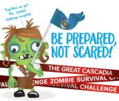 Be Prepared Not Scared Logo