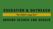 education and outreach ground search and rescue video (linked)