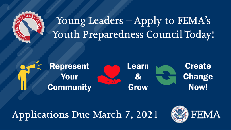 Apply to the YPC today banner