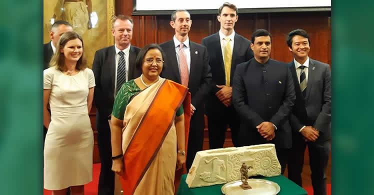 Cultural | Indian artifacts repatriated to home country during London ceremony