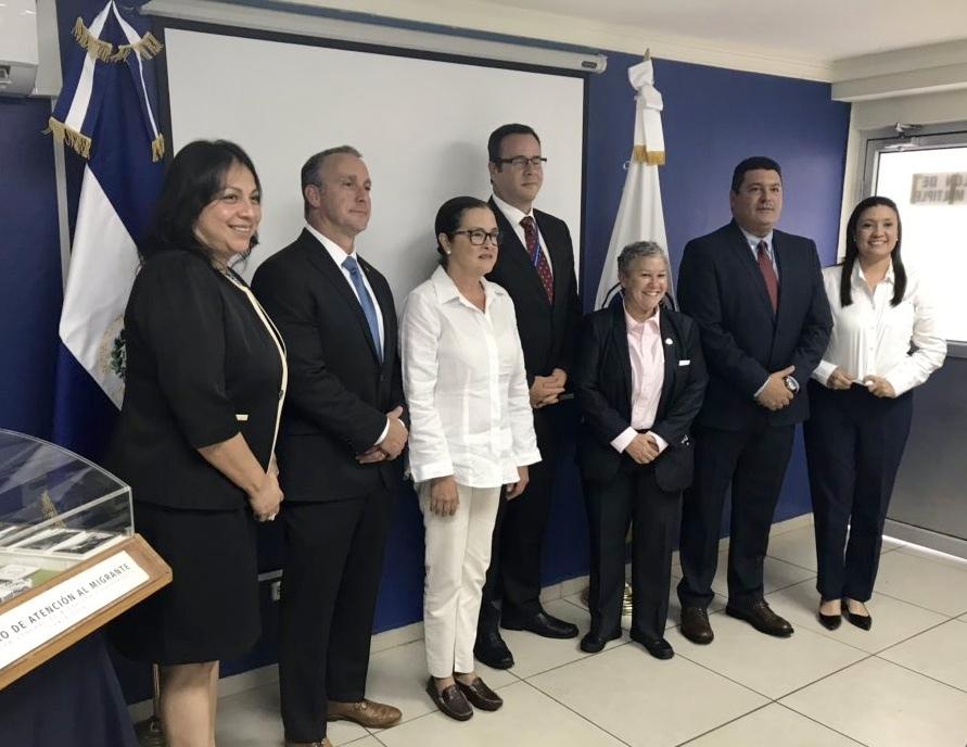 ICE | Acting Director visits El Salvador