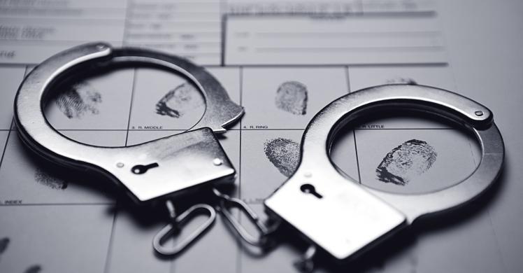 Stock Photo of Handcuffs