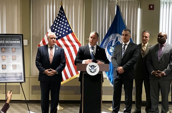 Detainers | ICE Acting Director Matthew Albence hosts news conference on declined detainers