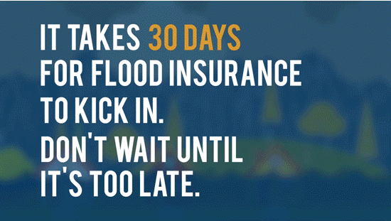 It takes 30 days for insurance to kick in