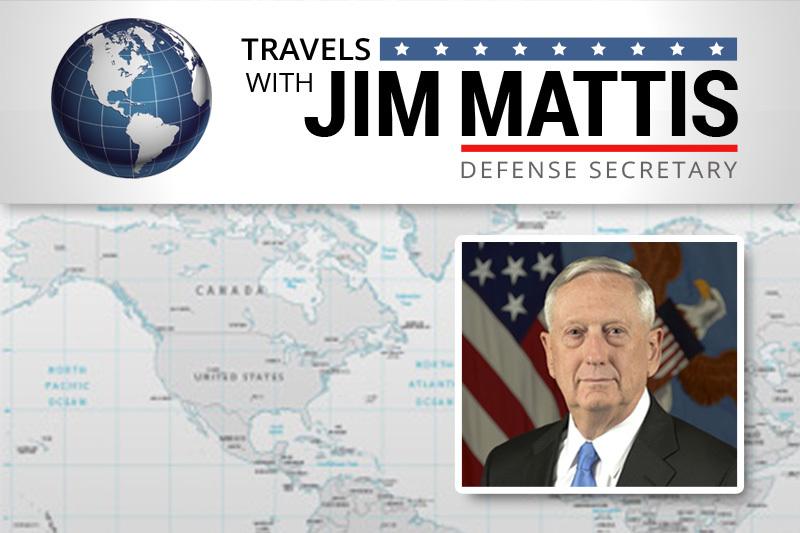 Special Report: Travels With Mattis - Mattis Visits Washington, California