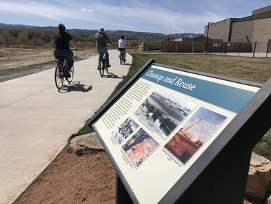 Riverfront Trail in Grand Junction, Colorado