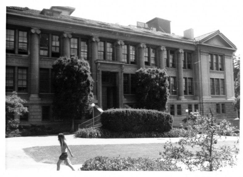 Gilman Hall at the University of California