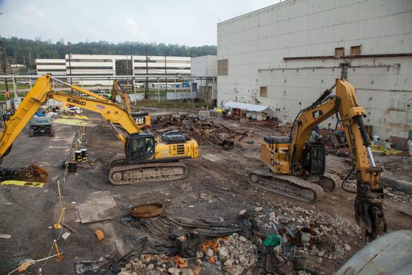 Oak Ridge Crews Finish Removing Mercury-Contaminated