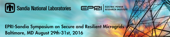EPRI Symposium Microgrid banner