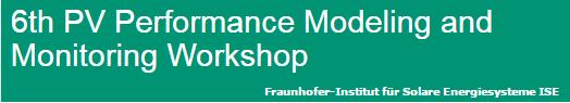 Fraunhofer PV Workshop logo