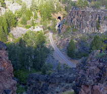 Bizz Johnson Trail in Northern California. Photo by Jeff Fontana, BLM.