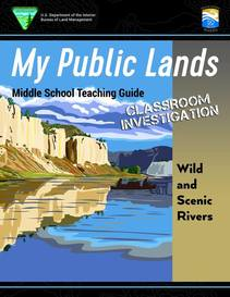Wild and Scenic Rivers teacher guide cover. Photo by BLM.