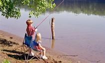 Kids Fishing at Ohio Rivers
