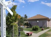Bizz Johnson Trailhead sign