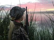 Waterfowl hunting with Alisha Haken, USFWS