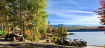 Atv foliage near lake photo by androscoggin valley chamber of commerce